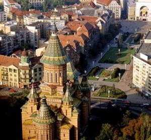Aerial view of Timisoara
