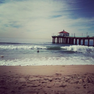 Valentines Day at Manhattan Beach