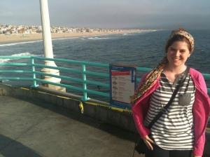 At the Manhattan Beach Peir