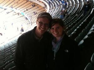 At Dodger Stadium