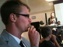 We joined the nations of Fuller together by playing the kazoo.