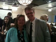 Graduation Banquet with Professor Jude