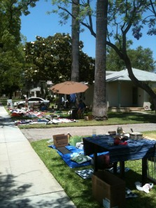 Community Yard Sale on Saturday