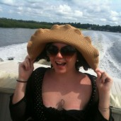 Amanda and her Big Hat