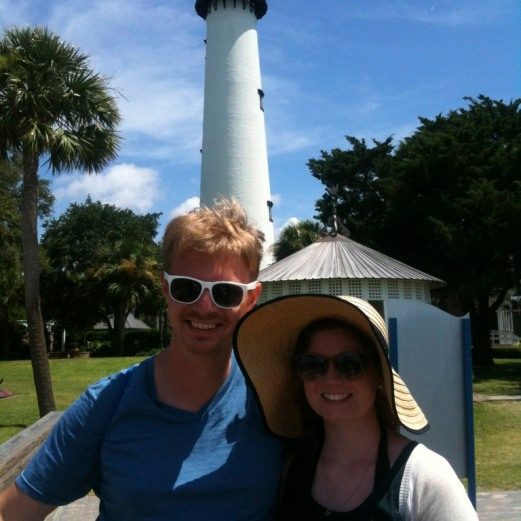 Big Hat and a Light House