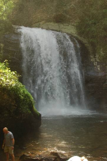 Falls in The Pisgah National Forrest