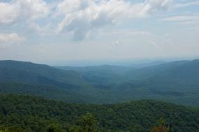 Bule Ridge Mountains