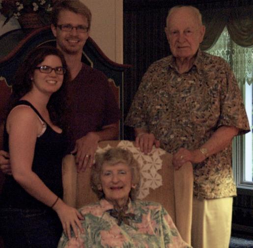 We had a great time with Nana and Da in North Carolina