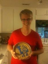 Jeff's LA Birthday Cake!
