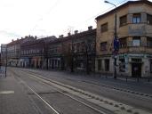 Sfanta Maria tram stop. Waiting for the number 7.