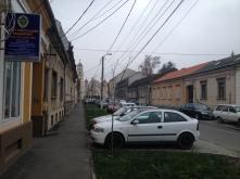 Walking down the street from Betel church.